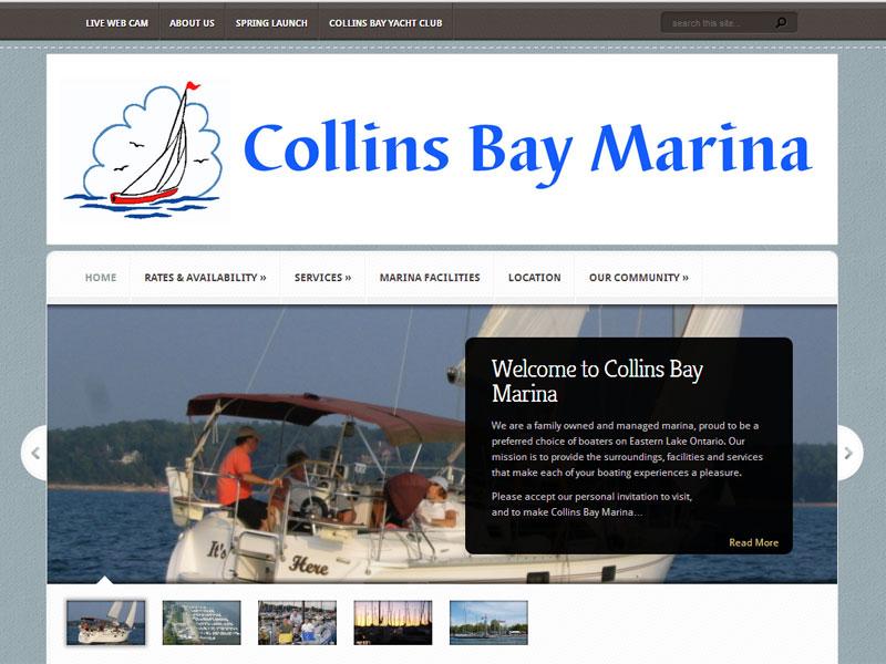 collinsbaymarina.com