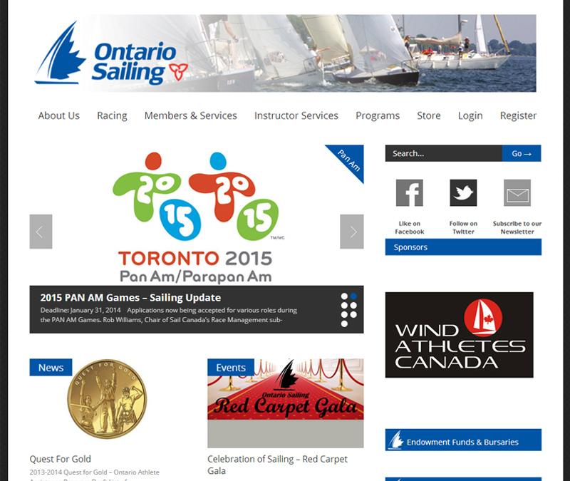 Ontario Sailing