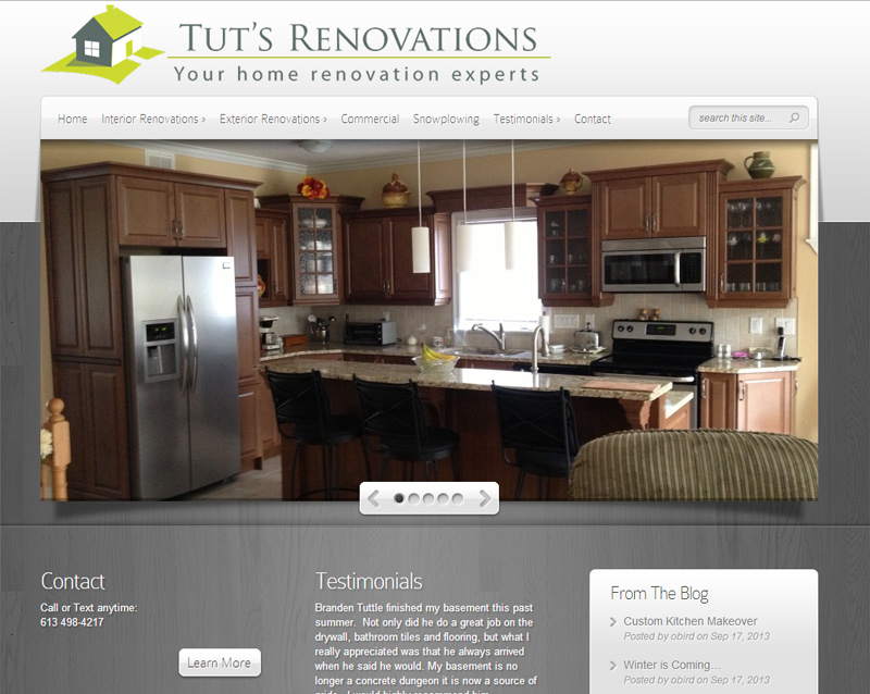 Tut's Renovations