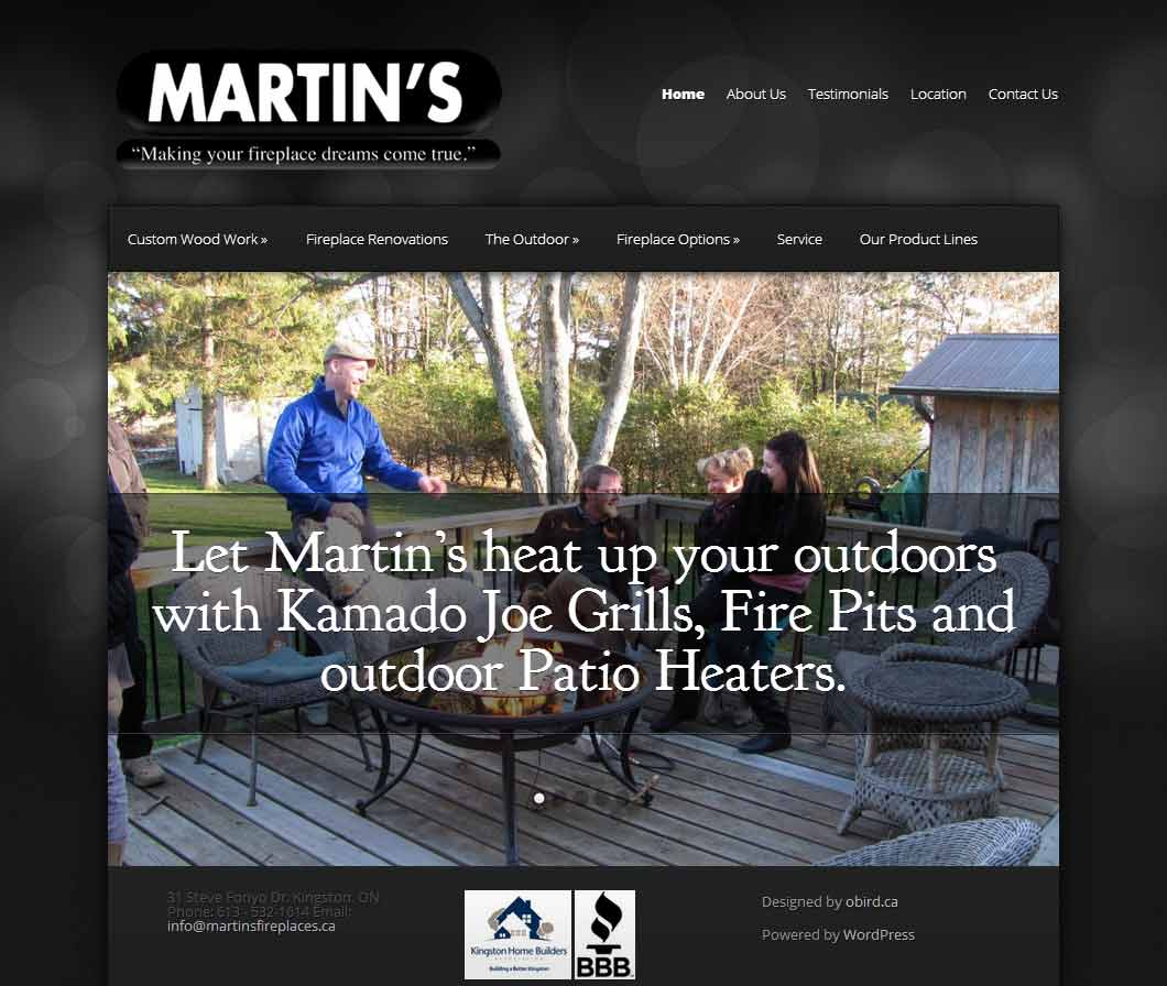 Martin's Fireplaces