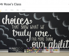 Mr. Rose's Class