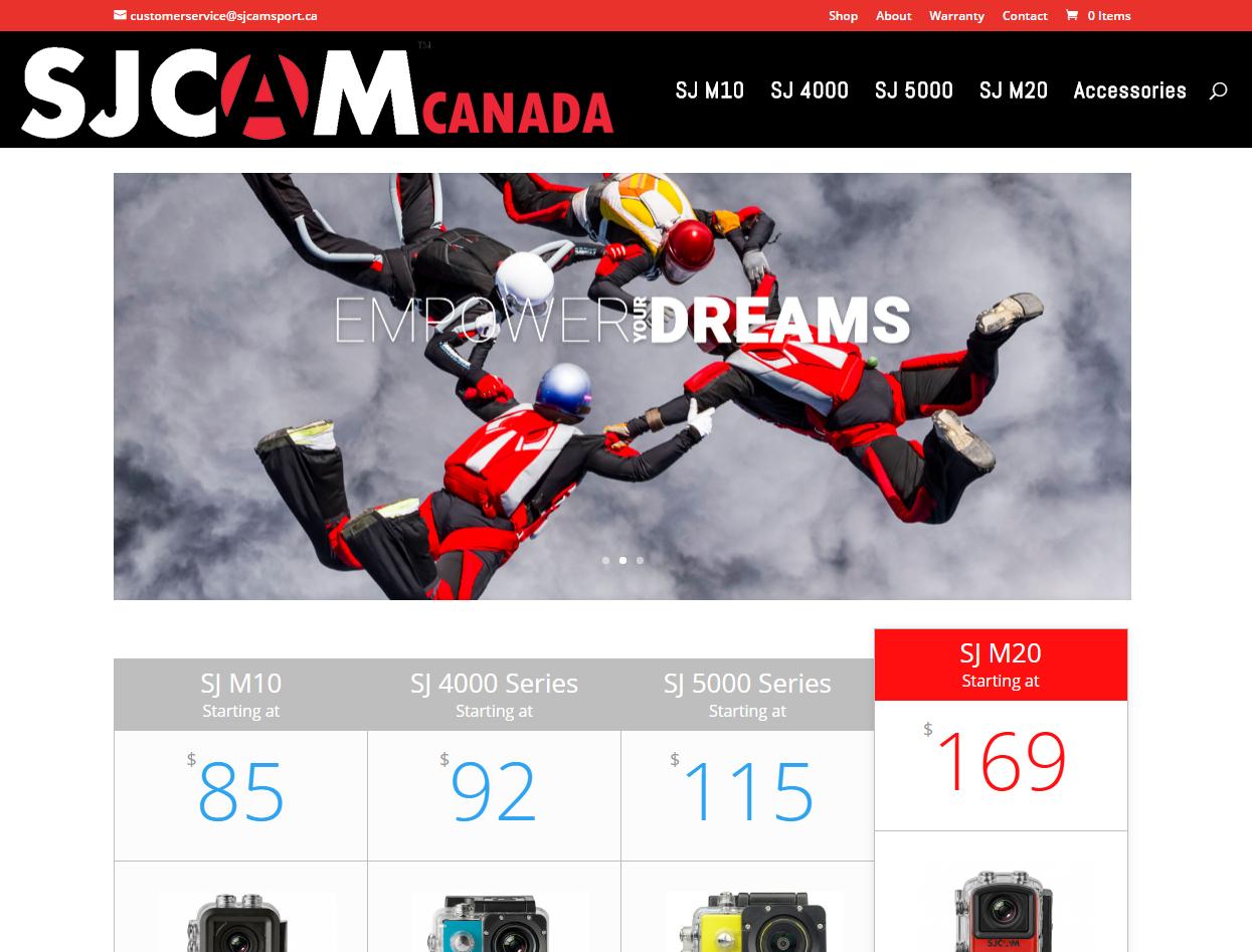 SJCAM Canada
